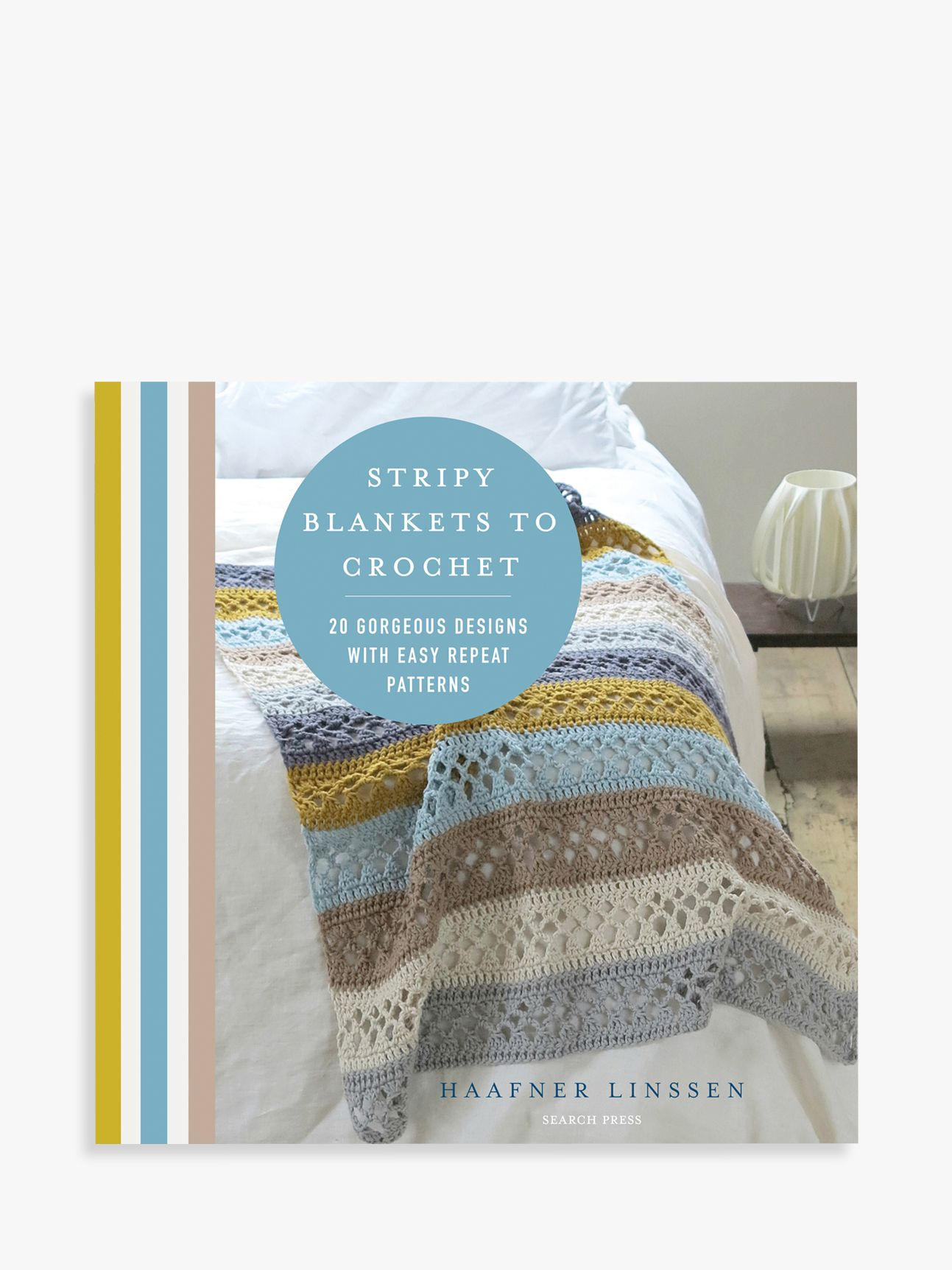 Search Press Search Press Stripy Blankets To Crochet Pattern Book