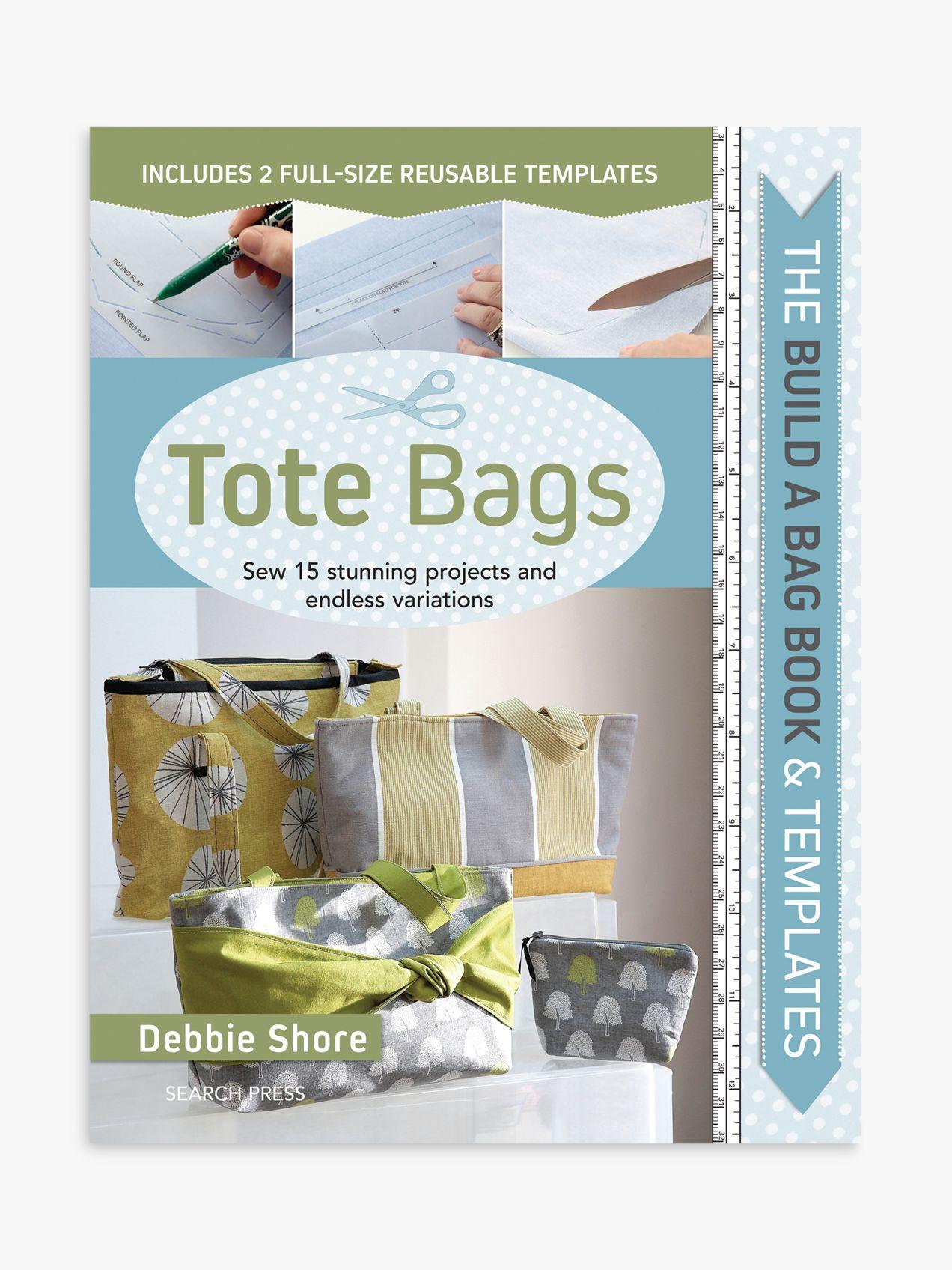 Search Press Search Press Build-A-Bag Tote Bag Sewing Book