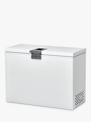 Hoover HMCH302EL 292 Litre Chest Freezer, White
