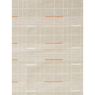 John Lewis & Partners Lintel Check Furnishing Fabric, Auburn