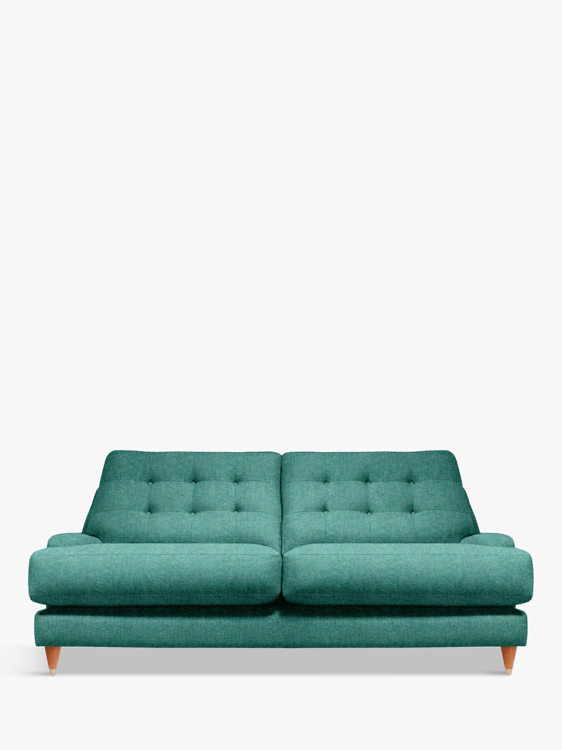 G Plan Vintage G Plan Vintage The Fifty Seven Large 3 Seater Sofa, Sorren Teal