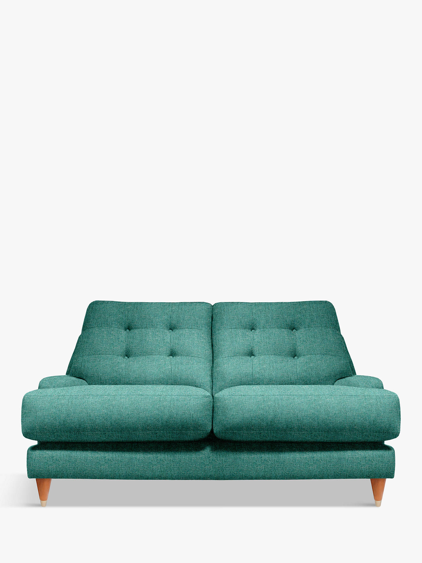 Awe Inspiring G Plan Vintage The Fifty Seven Small 2 Seater Sofa Sorren Teal Theyellowbook Wood Chair Design Ideas Theyellowbookinfo