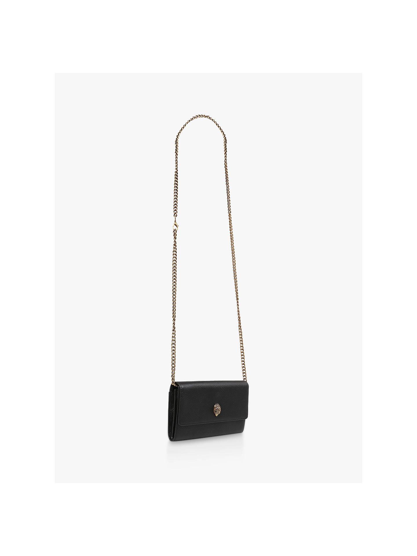 47eab69e0f9d Kurt Geiger London Kensington Leather Wallet Clutch Bag at John ...