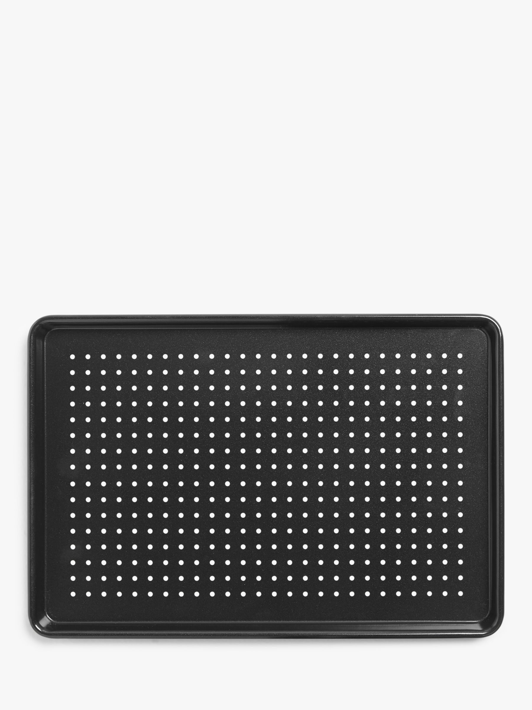 John Lewis & Partners Professional Perforated Non-Stick Baking Tray, 27cm