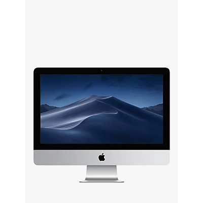 "Image of 2019 Apple iMac 21.5 MRT32B/A All-in-One, Intel Core i3, 8GB RAM, 1TB HDD, Radeon Pro 555X, 21.5"" 4K, Silver"