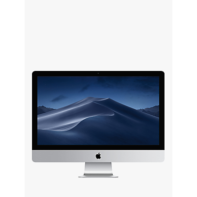 "Image of 2019 Apple iMac 27 MRQY2B/A All-in-One, Intel Core i5, 8GB RAM, 1TB Fusion Drive, Radeon Pro 570X, 27"" 5K, Silver"