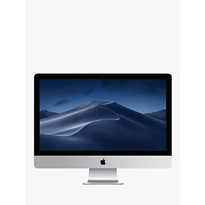 2019 Apple iMac 27 MRR02B/A All-in-One, Intel Core i5, 8GB RAM, 1TB Fusion Drive, Radeon Pro 575X, 27� 5K, Silver