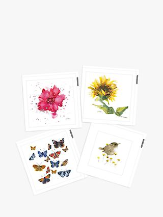 Woodmansterne Millbank Art Blank Greeting Cards, Pack of 4