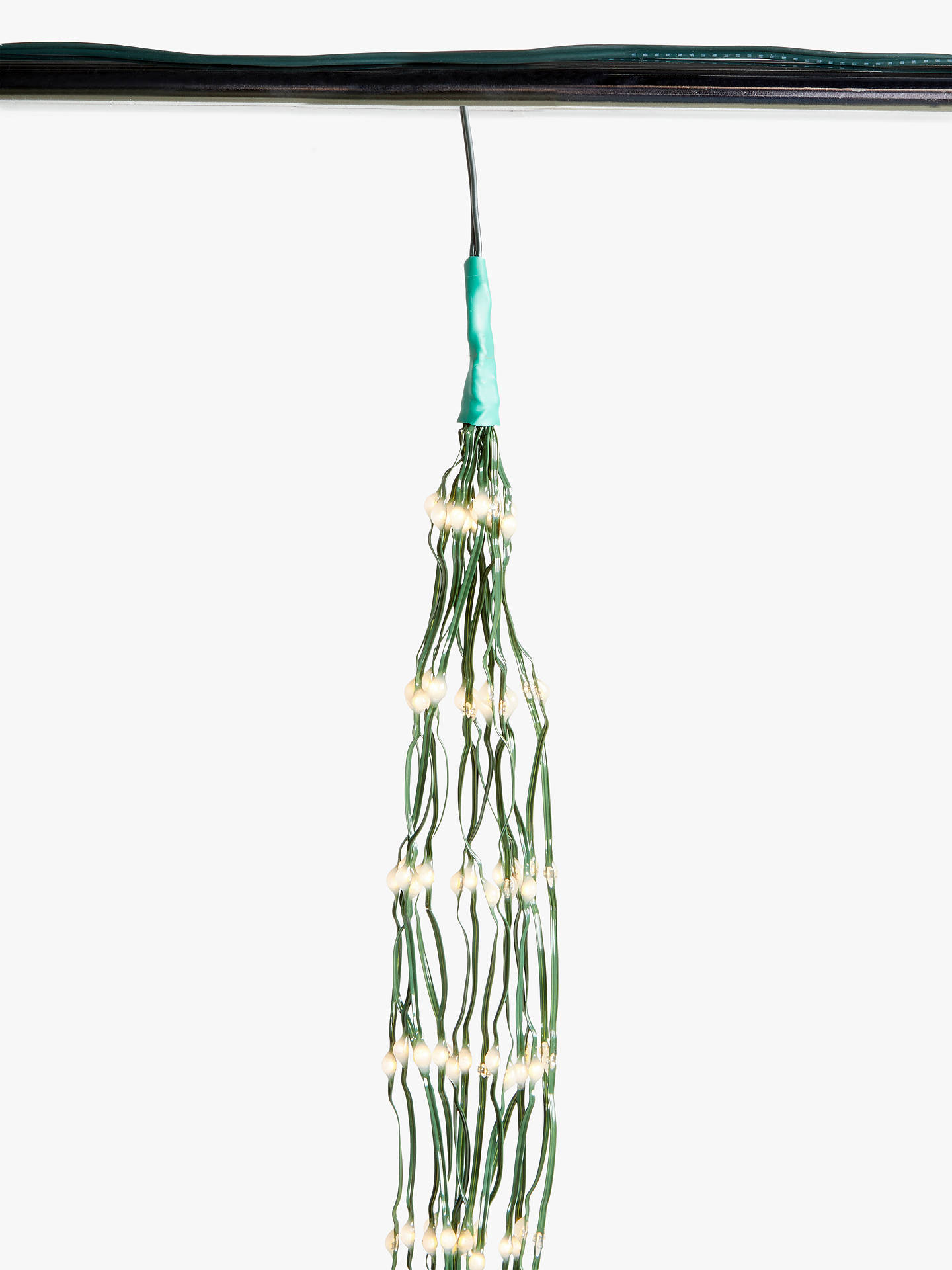 Pure White 1x John Lewis 432 LED Waterfall Christmas Lights 6ft Tree