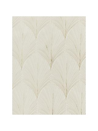 John Lewis & Partners Deco Fan Made to Measure Curtains, Champagne