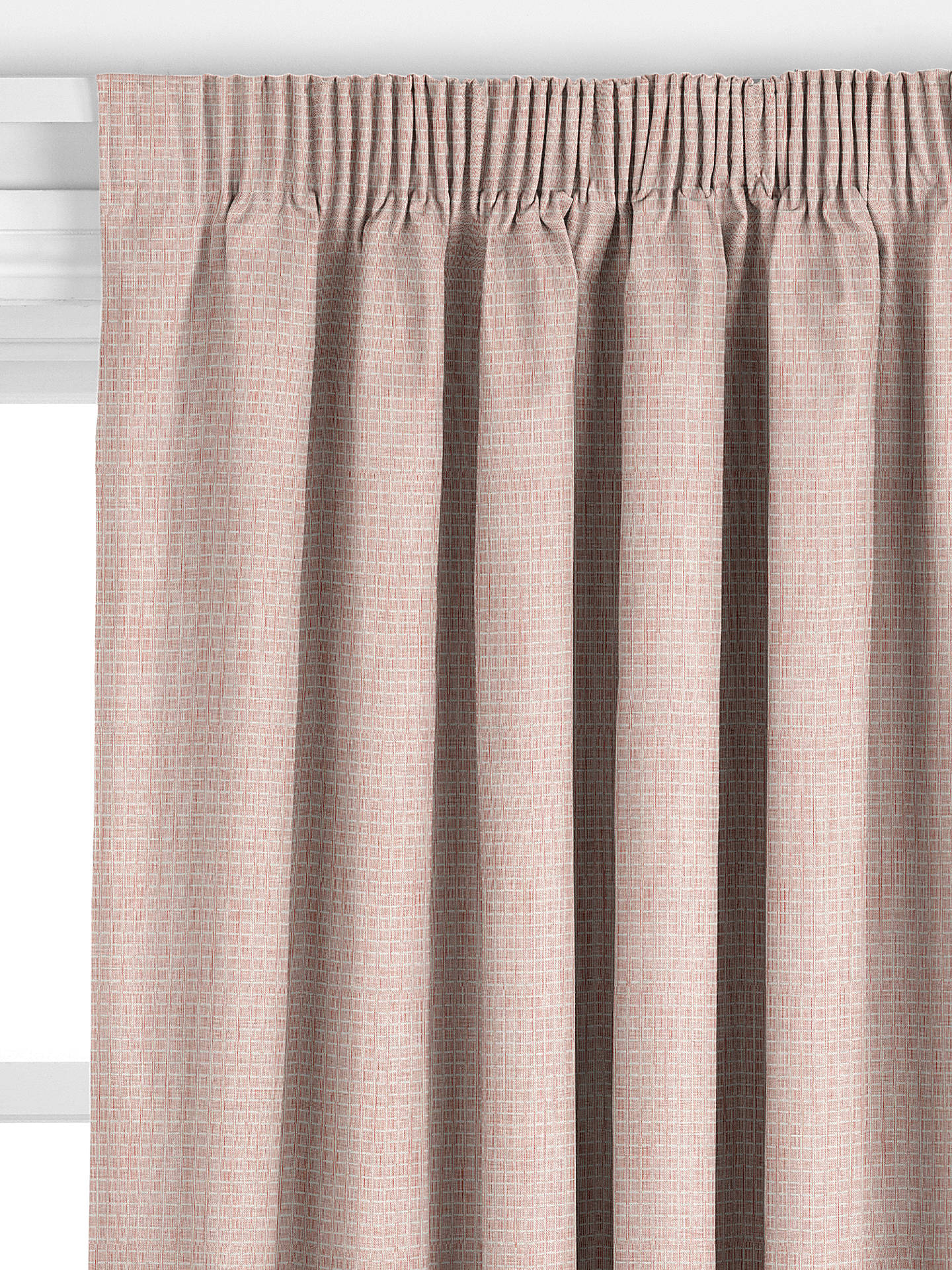 John Lewis Amp Partners Otto Check Made To Measure Curtains