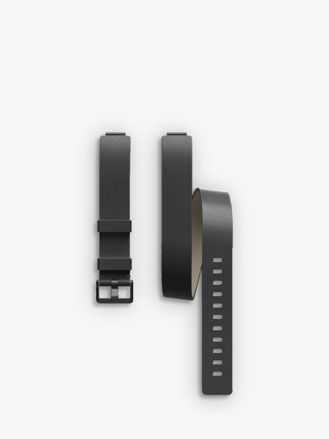 Fitbit Fitbit Inspire Double Leather Wristband, Black
