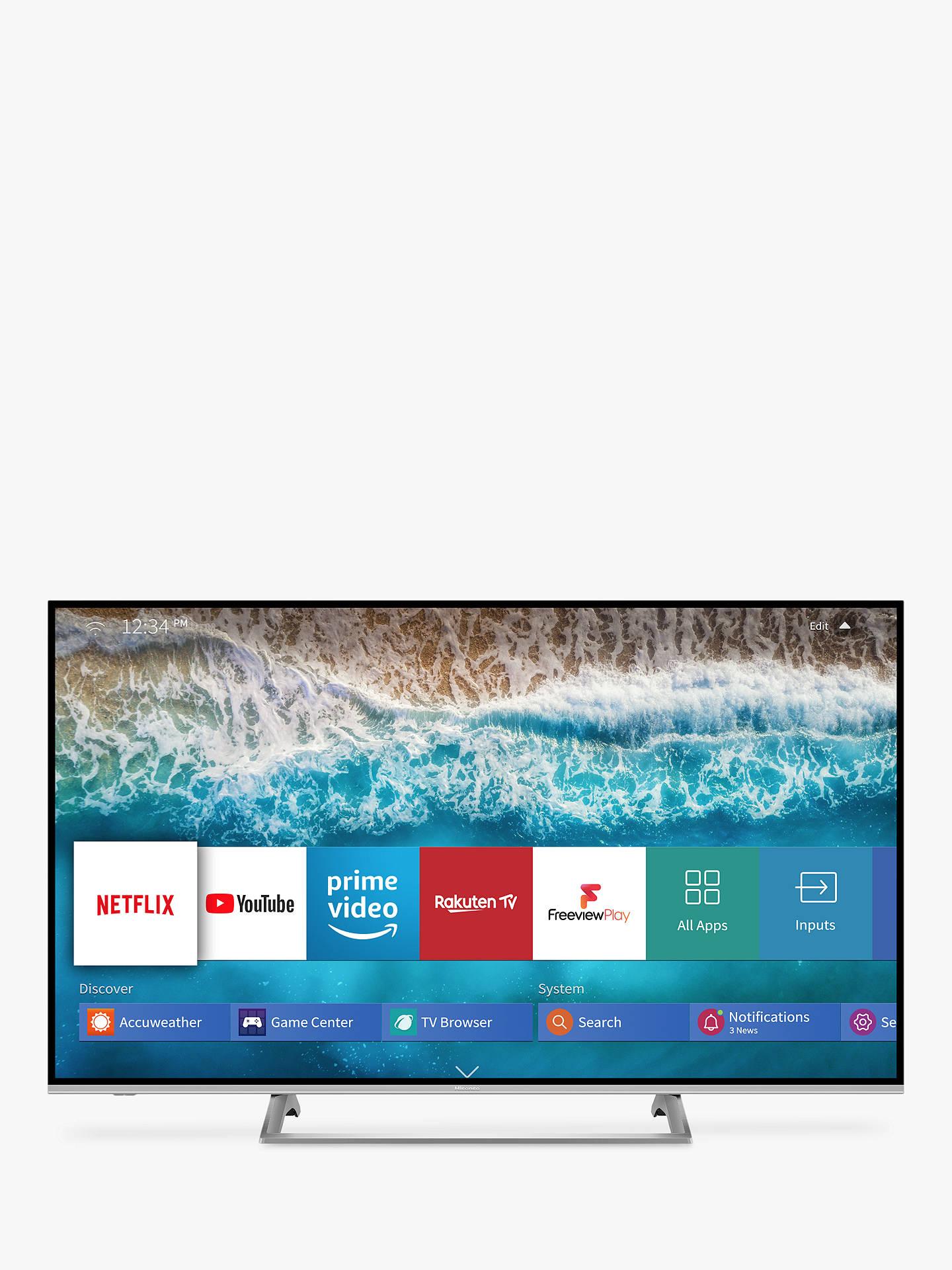 Hisense H50B7500UK (2019) LED HDR 4K Ultra HD Smart TV, 50