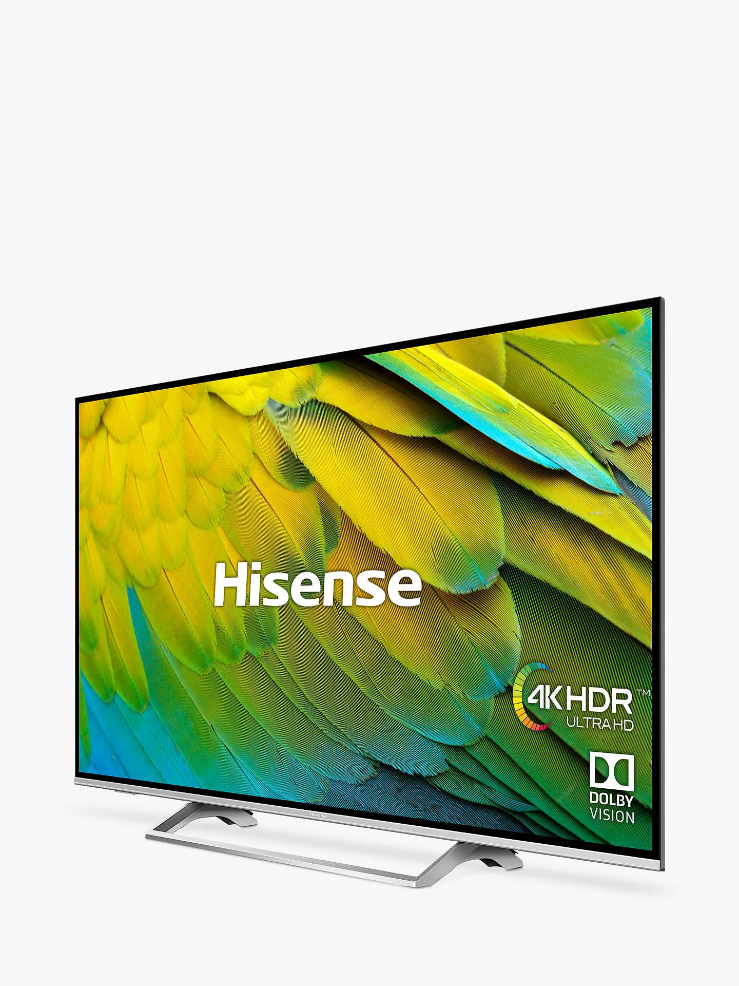 Hisense H65B7500UK (2019) LED HDR 4K Ultra HD Smart TV, 65