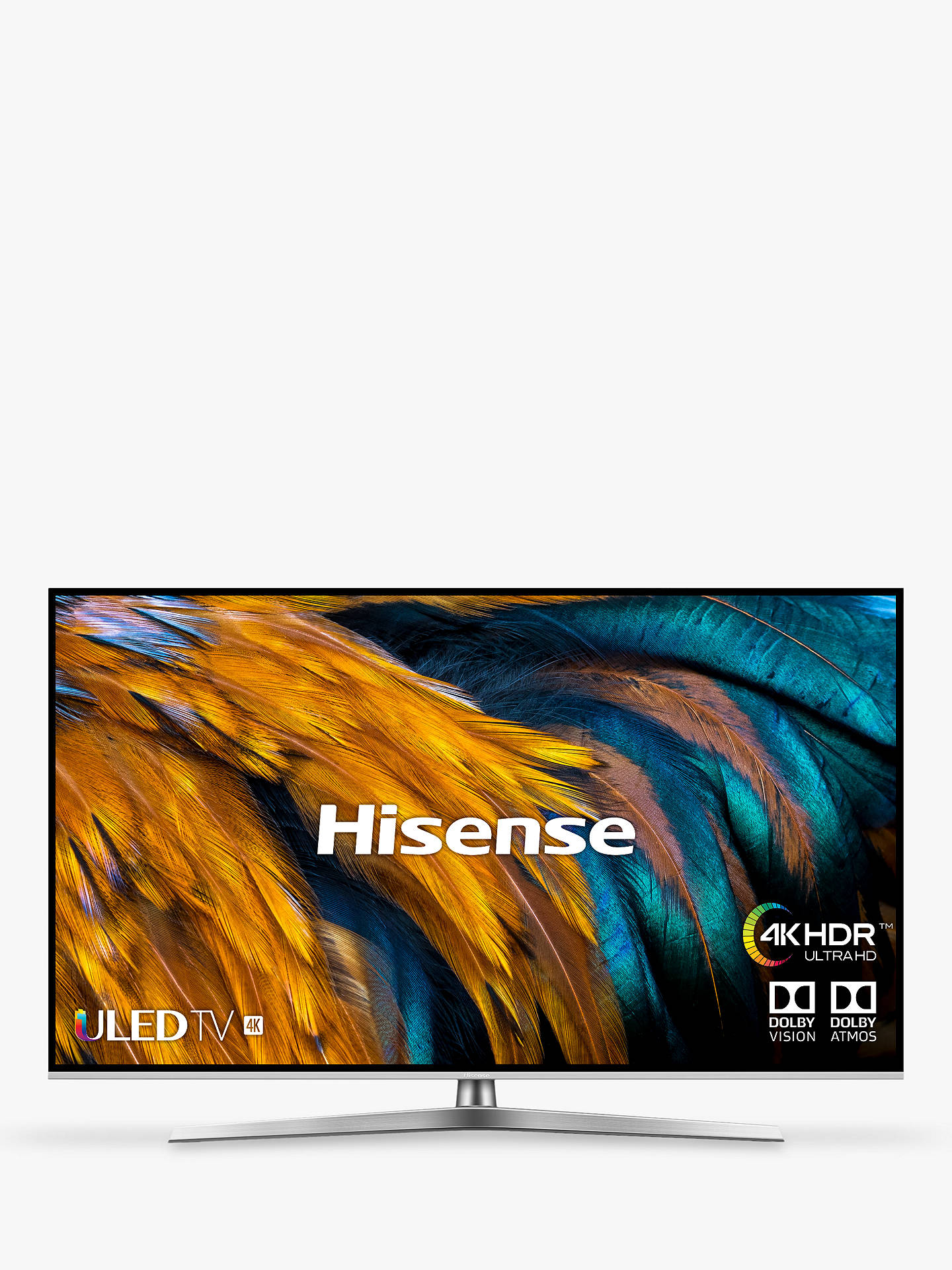 Hisense H65U7BUK (2019) ULED HDR 4K Ultra HD Smart TV, 65