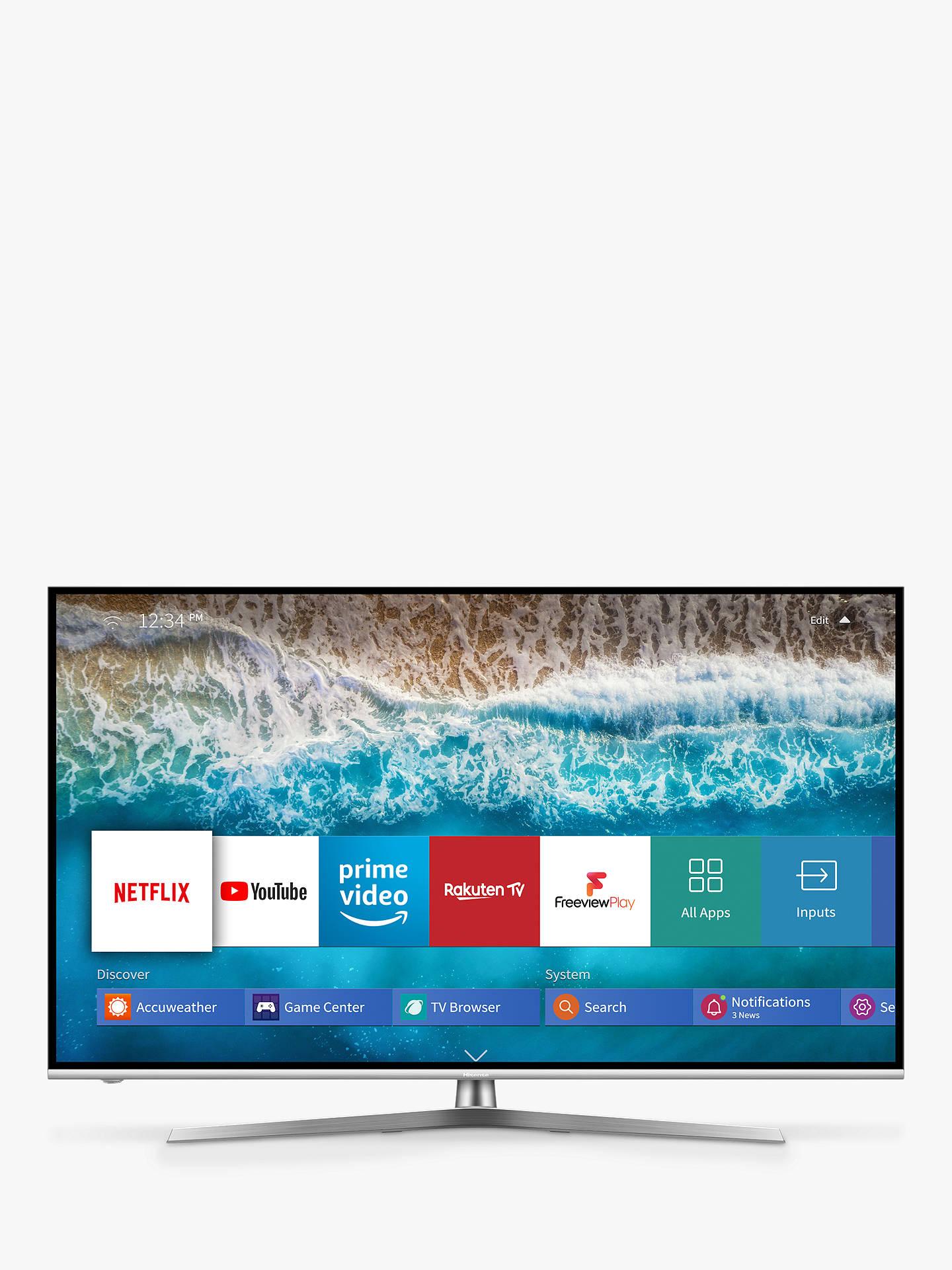 Hisense H55U8BUK (2019) ULED HDR 4K Ultra HD Smart TV, 55