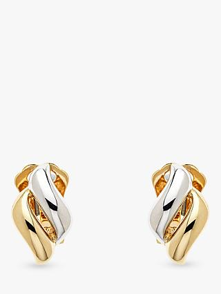 Emma Holland Diamond Shape Clip-On Stud Earrings