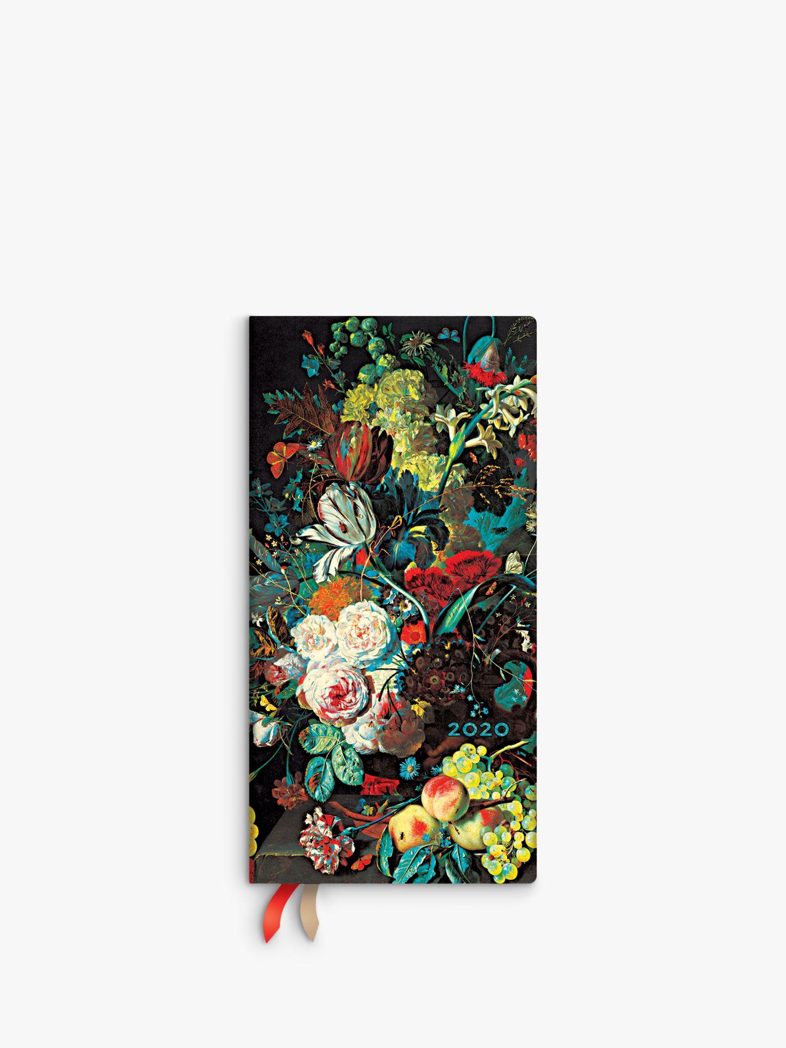 Paperblanks Paperblanks Van Huysum Slim Diary 2020
