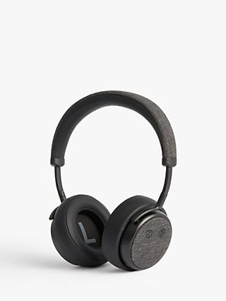 John Lewis & Partners H1 Wireless On-Ear Headphones with Mic/Remote