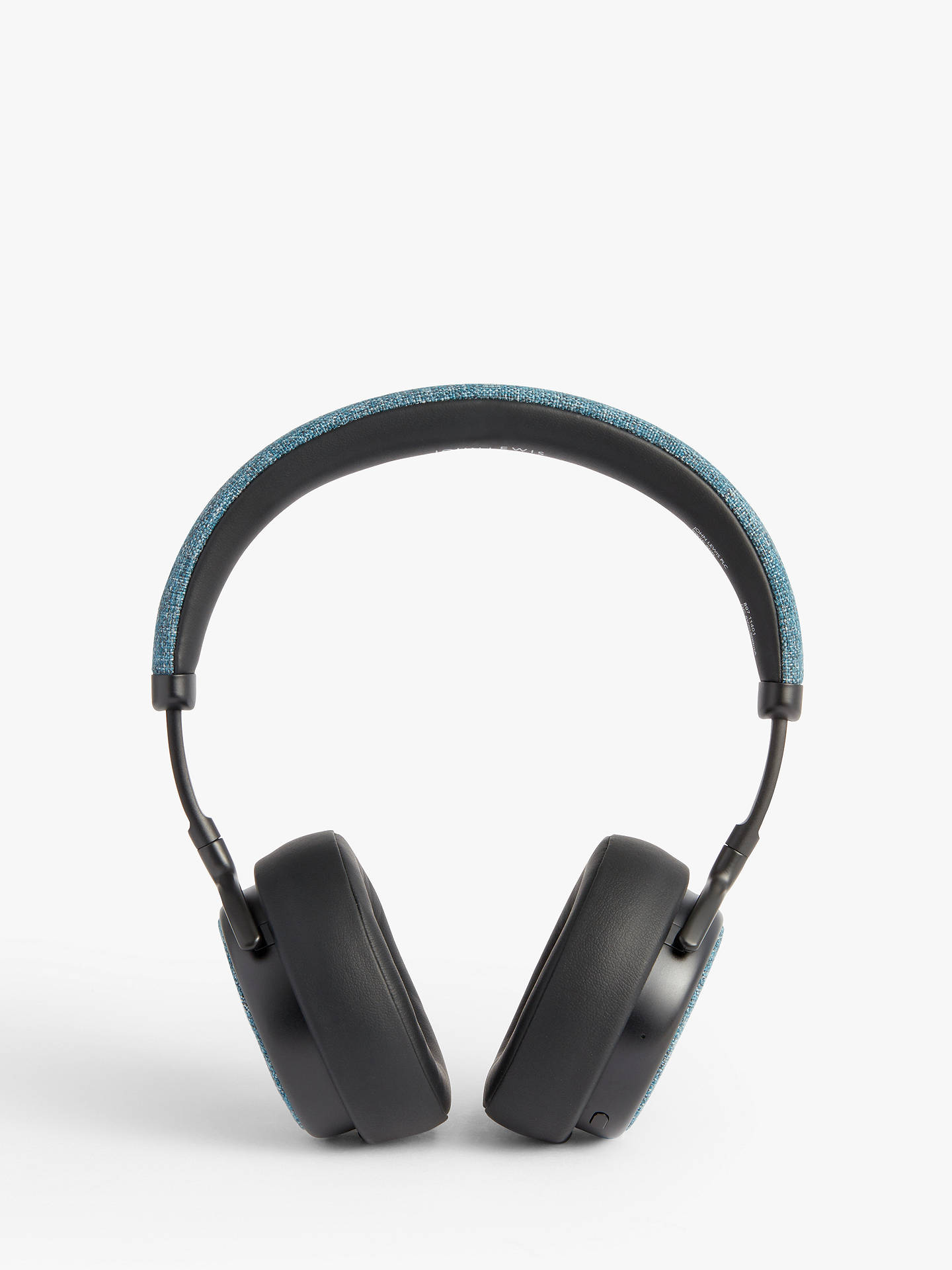 Buy John Lewis & Partners H1 Wireless On-Ear Headphones with Mic/Remote, Blue/Grey Online at johnlewis.com