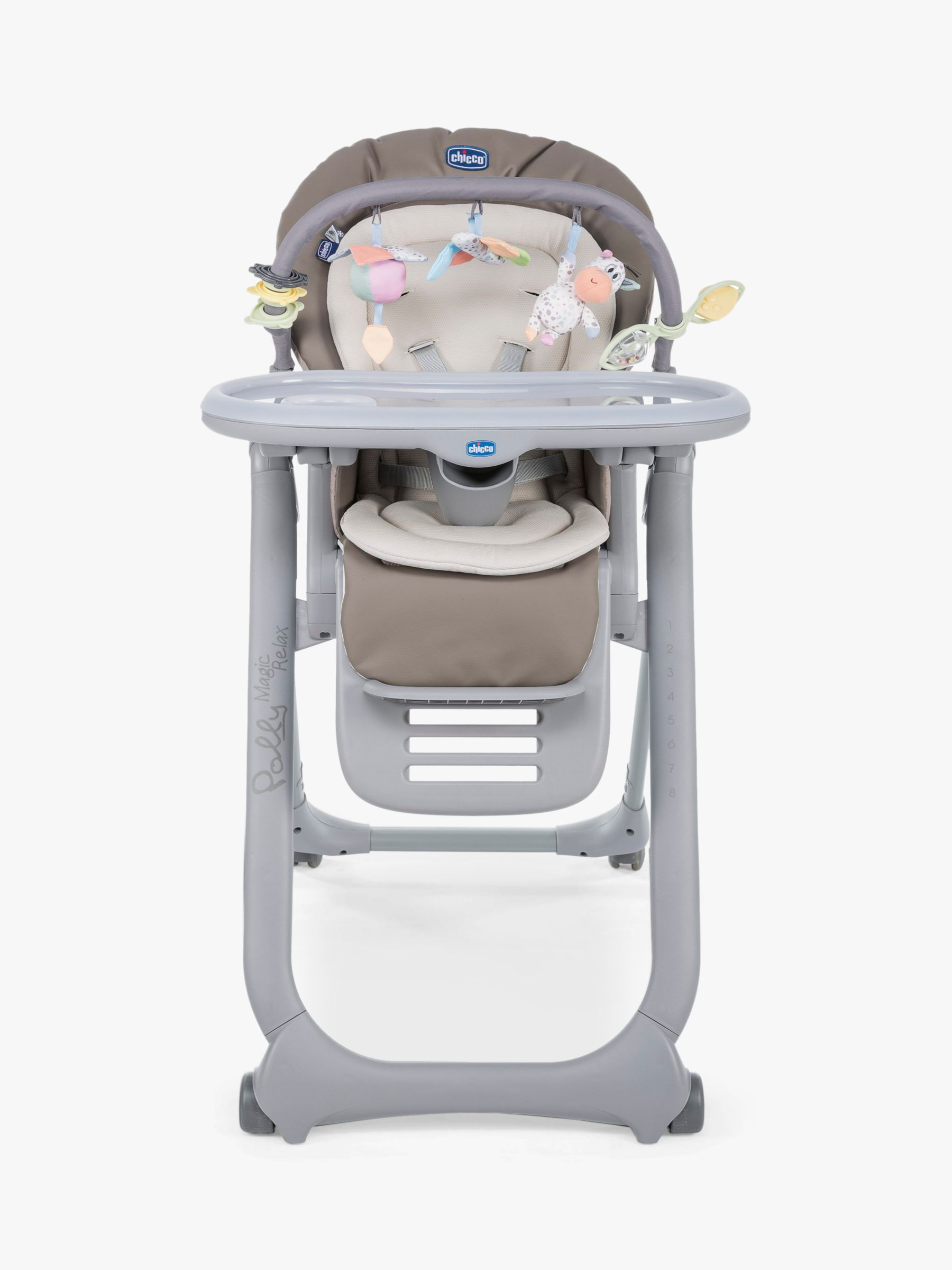 Chicco Chicco Polly Magic Relax Highchair, Cocoa