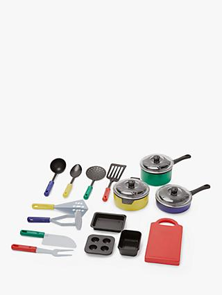 John Lewis & Partners 18 Piece Kitchen Set