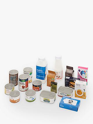 John Lewis & Partners 18 Piece Grocery Set