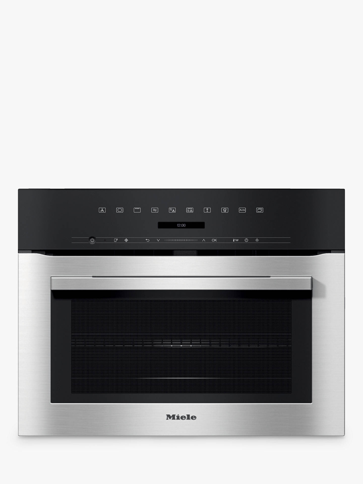 Miele H7140bm Built In Combination Microwave Oven Clean