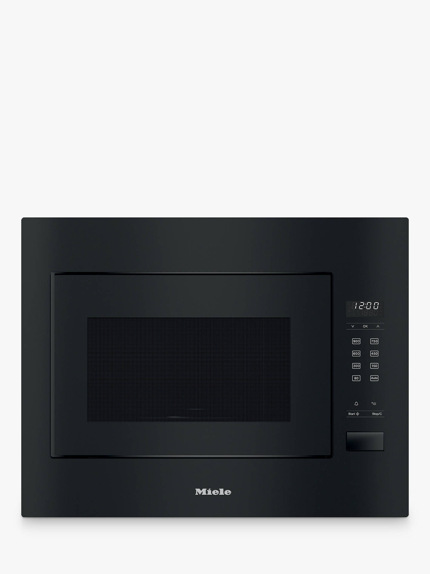 Miele M2240sc Built In Microwave Obsidian Black