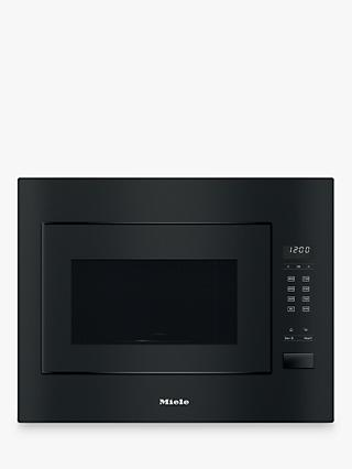 Miele M2240SC Built-in Microwave, Obsidian Black