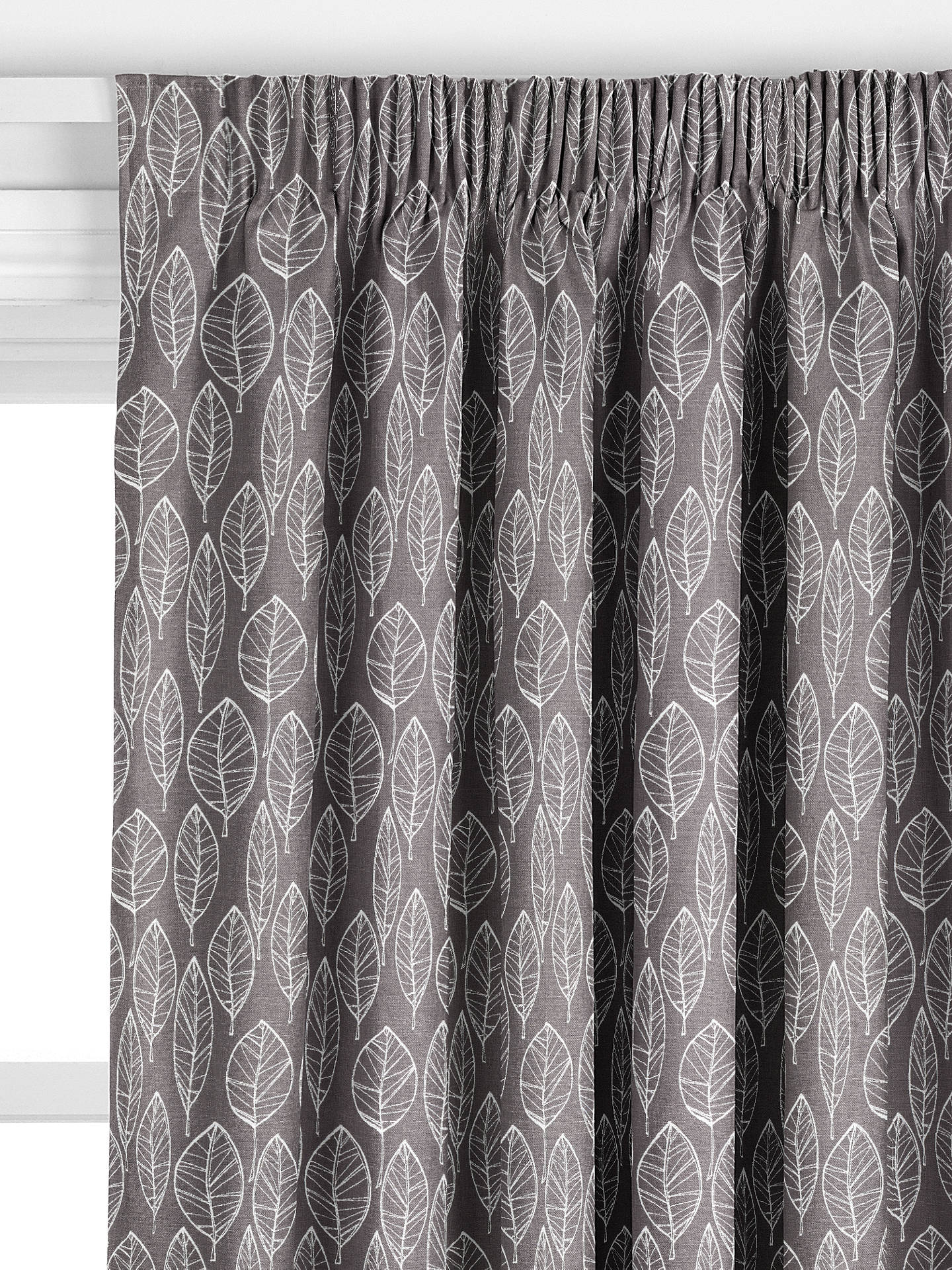 John Lewis Amp Partners Aspen Leaf Made To Measure Curtains