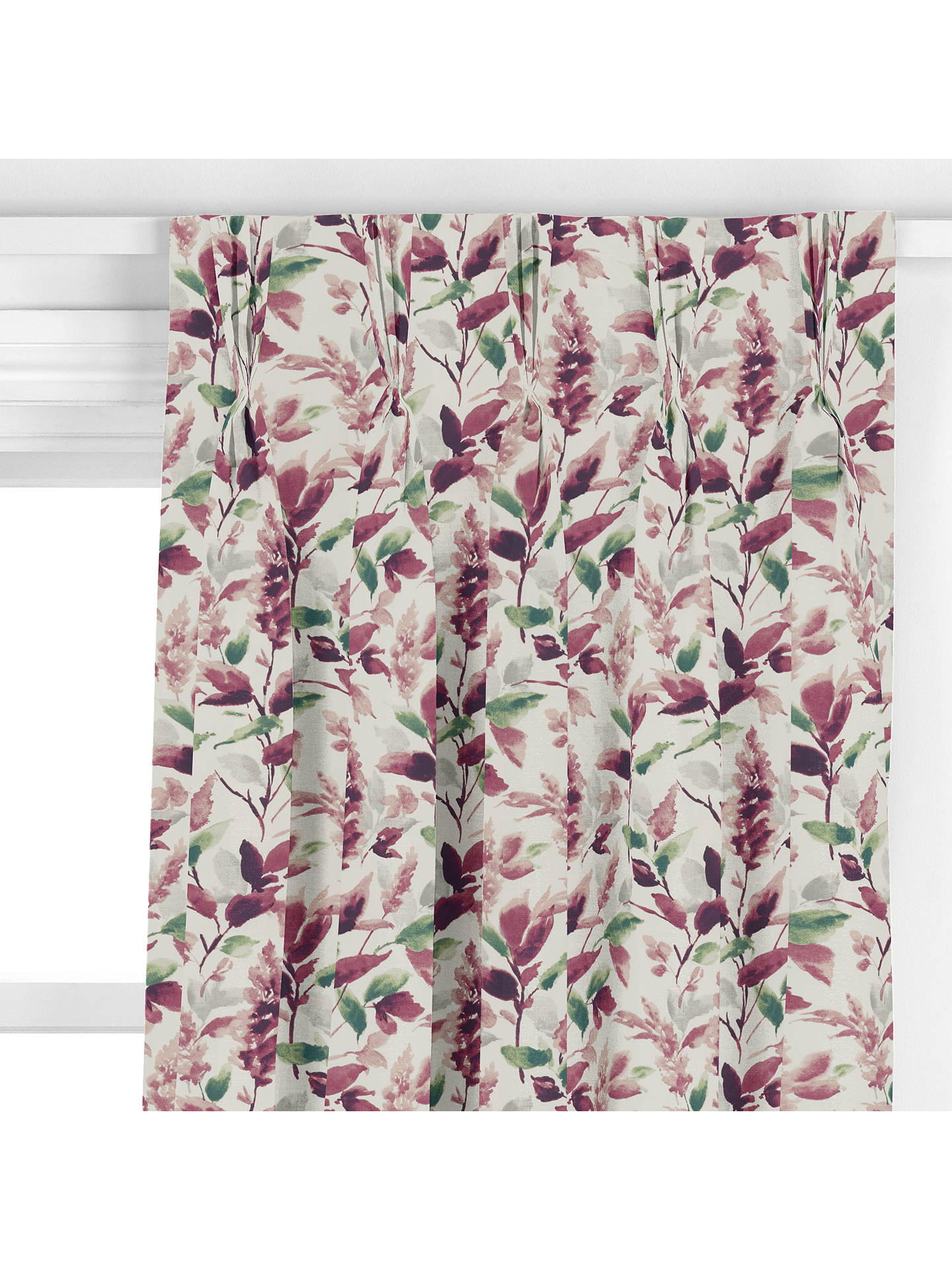 John Lewis Amp Partners Ashley Leaf Made To Measure Curtains