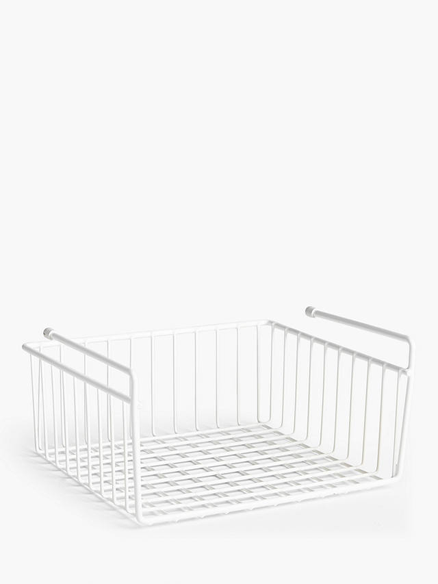 Buy ANYDAY John Lewis & Partners Under-shelf Basket Online at johnlewis.com