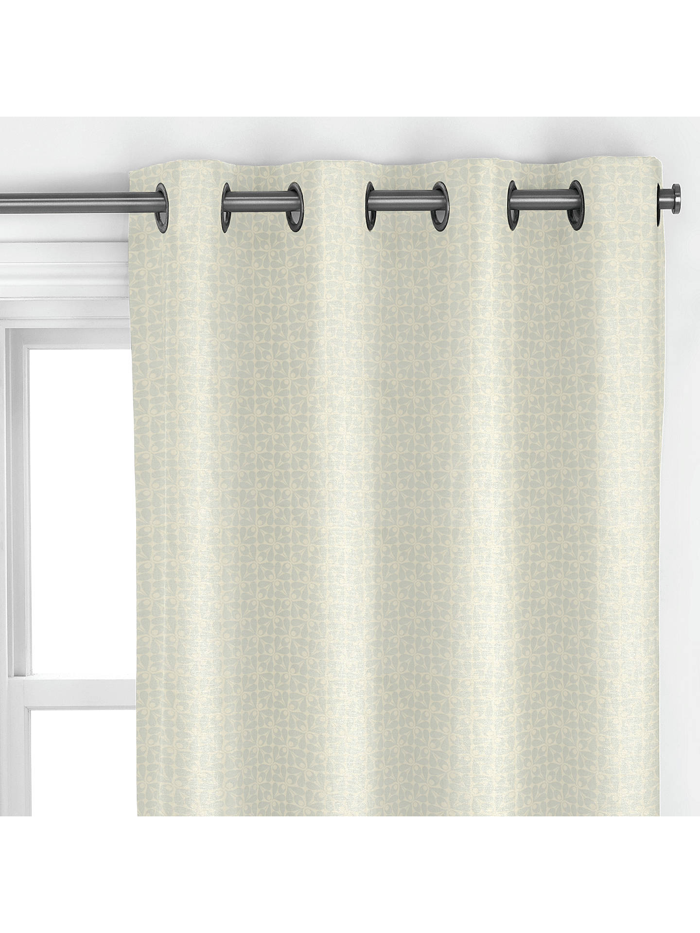 Orla Kiely Woven Acorn Made To Measure Curtains Powder