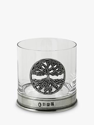 English Pewter Company Tree of Life Tumbler