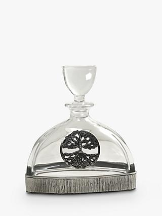 English Pewter Company Tree of Life Decanter
