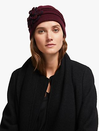John Lewis & Partners Wool Pleated Beanie