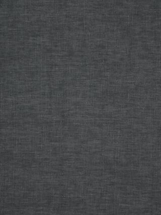 John Lewis & Partners Cotton Blend Made to Measure Curtains, Dark Steel