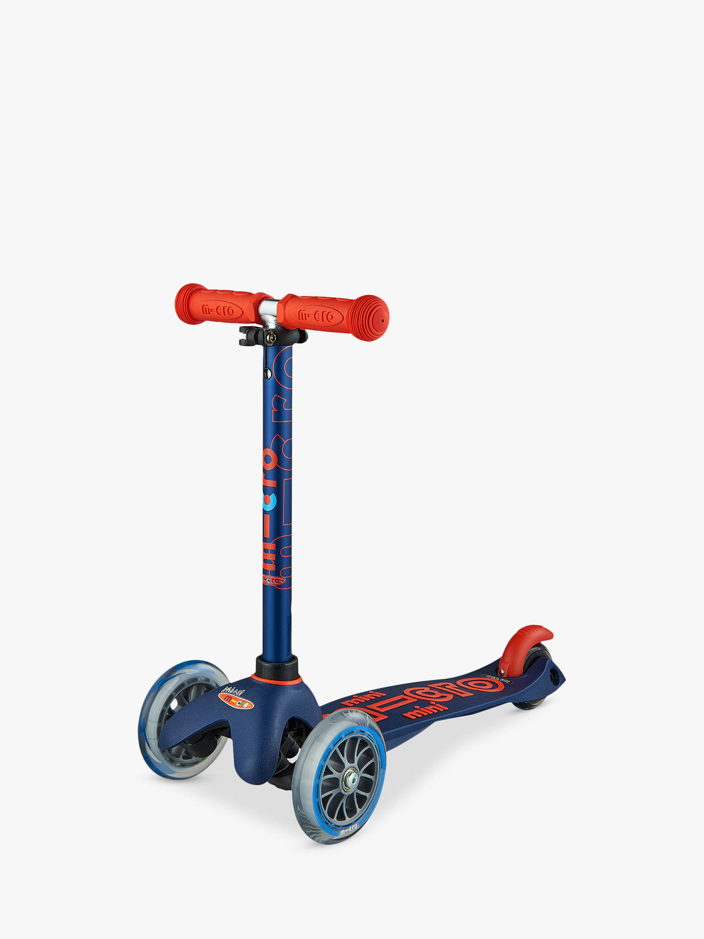 Buy Mini Micro Deluxe Scooter, 2-5 years, Navy Online at johnlewis.com