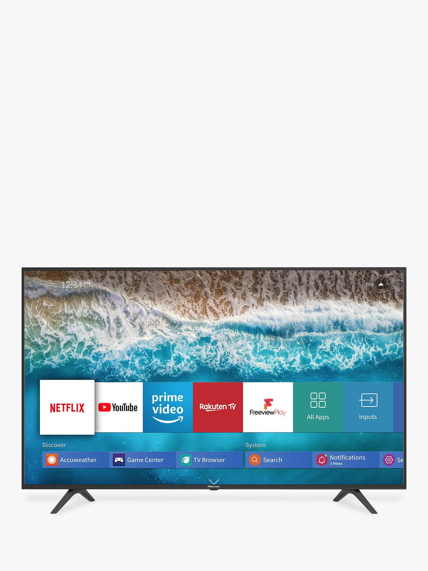 Hisense H55B7100UK (2019) LED HDR 4K Ultra HD Smart TV, 55