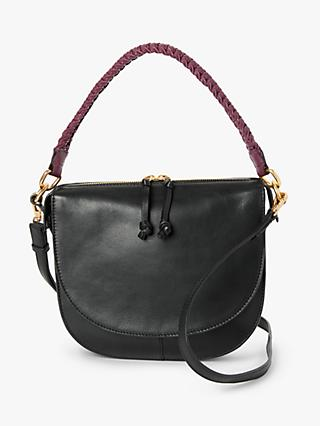 AND/OR Carmen Leather Saddle Cross Body Bag
