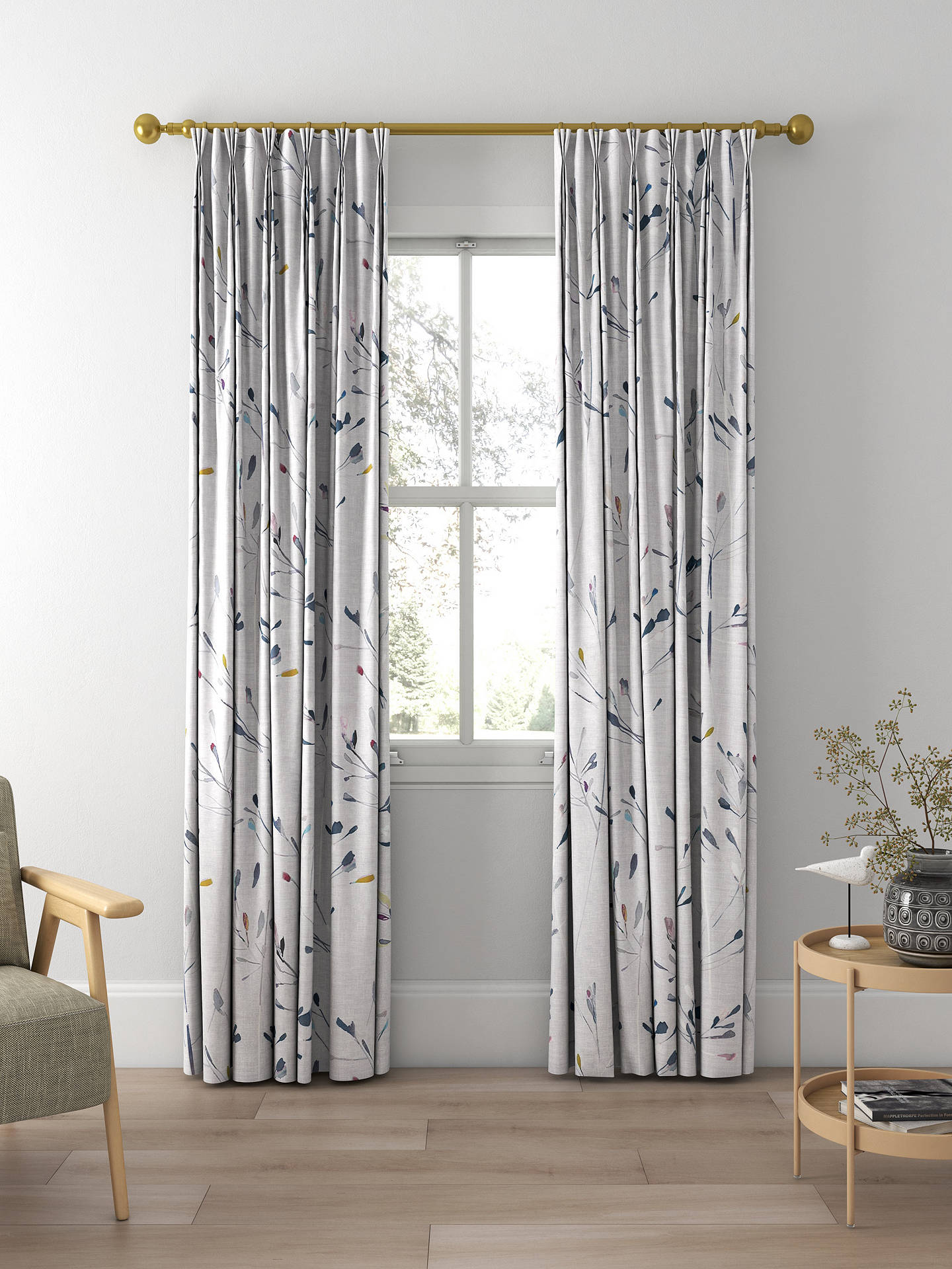 John Lewis Amp Partners Nerine Made To Measure Curtains