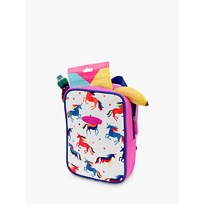 Micro Scooters Patterned Lunch Bag