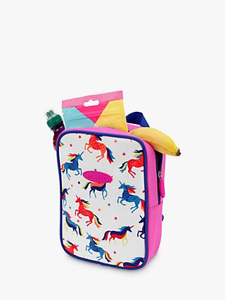 Micro Scooters Unicorn Lunch Bag, White/Multi