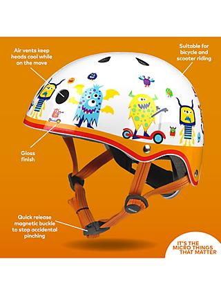 Micro Scooter Monster Safety Helmet, Medium