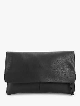 John Lewis & Partners Leather Mistry Clutch Bag