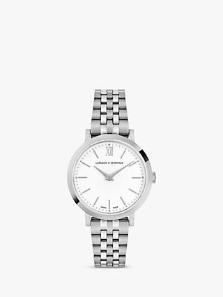 cd9a7388b91 Larsson   Jennings Unisex Lugano Bracelet Strap Watch