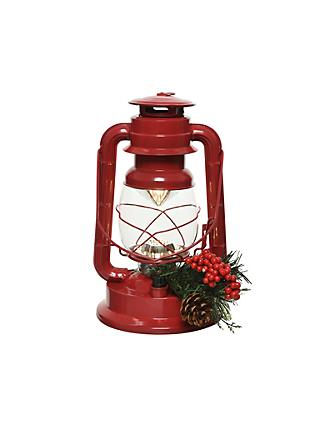 John Lewis & Partners Traditions LED Camp Light, Red