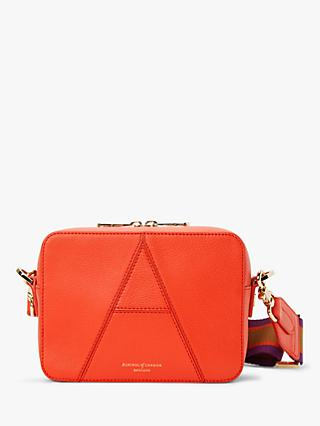 Aspinal of London Leather Camera Cross Body Bag