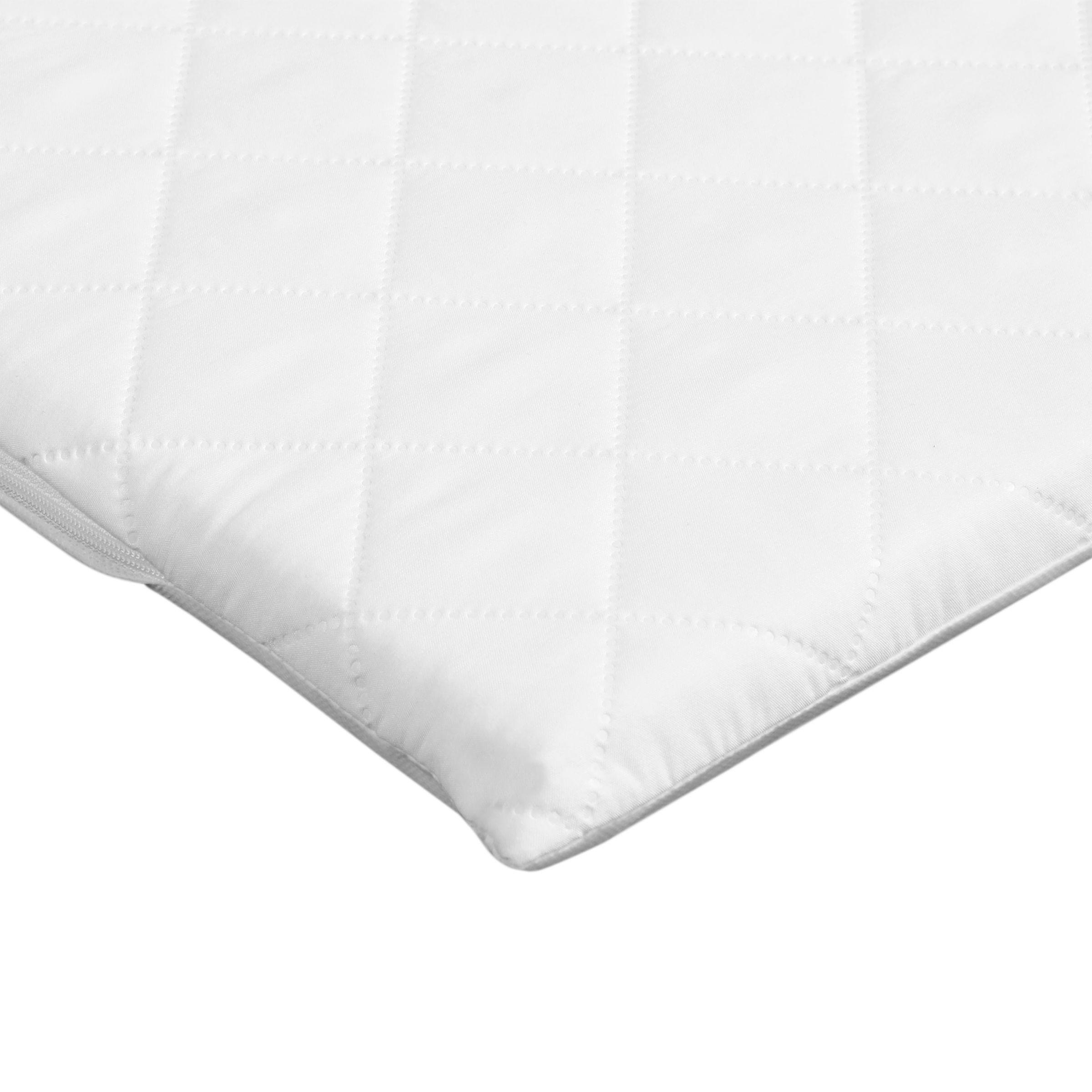 John Lewis & Partners Premium Foam Crib Mattress, 89 x 38cm